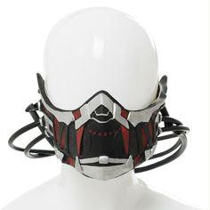 Code Vein Mia Karnstein Mask Game Cosplay Props New Stylish 2018 Halloween Mask Robot Concept Art, Armor Concept, Helmet Design, Mask Design, Sith Mask, 3d Printed Mask, Ninja Mask, Mens Face Mask, Masks Art