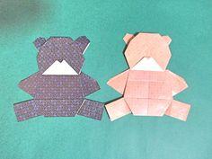 Origami medve összecsukható video - kreatív origami hajtogatás ... videók