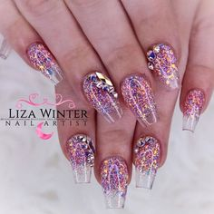 Unicorn Glitter Ombre For Short Coffin Nails ❤ 35+ Outstanding Short Coffin Nails Design Ideas For All Tastes ❤ See more ideas on our blog!! #naildesignsjournal #nails #nailart #naildesigns #nailshapes #coffinnails #ballerinanailshape #shortcoffinnails Square Nail Designs, Short Nail Designs, Cute Nail Designs, Stylish Nails, Trendy Nails, Oxblood Nails, Ballerina Nails Shape, Sassy Nails, Short Nails Art