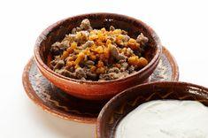 Ajdovi žganci - a traditional dish made from barley Hard Boiled, Buckwheat, Slovenia, Craft Beer, Acai Bowl, Wines, Yogurt, Food To Make, Dish