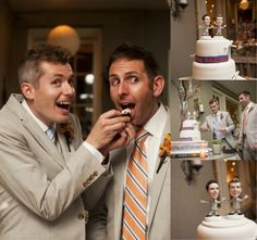 Modern jewish wedding cake #gaywedding #equality  http://gaytravel.com
