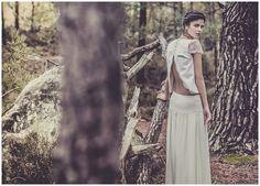 alternative wedding dress from France #weddingdress