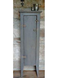 Primitive Chimney Cabinet | Handcrafted Primitive Chimney Jelly Cupboard |  EBay