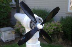 Simple Backyard Wind Turbine