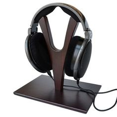 Wooden Headphone Headset Stand Holder for Sennheiser AKG Beyerdynamic Grado Sony | eBay