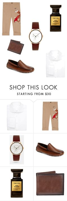 """Untitled #8"" by rnagy868 ❤ liked on Polyvore featuring Uman, Gucci, Ted Baker, To Boot New York, Tom Ford, Croft & Barrow, men's fashion and menswear"