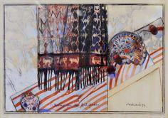Mixed media, oil, pastel and gouache, 146 x 105 cm … Australian Artists, Girls Dream, Gouache, Still Life, Pastel, African, Shades, Canvas, Illustration