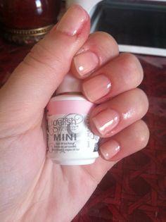 DIY Natural gel nails.