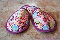 Manualidades para ir de viaje: Cómo hacer unas zapatillas de tela