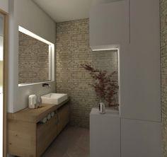 architecture intérieure salle de bain contemporaine nature pierre et bois