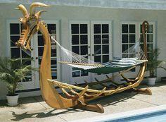 diy hammock stand - Google Search