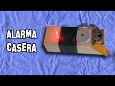 ✔ Como Hacer una Alarma Casera de Barrera   How to make a home alarm Bar...