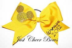 Worlds Bow 2012! This is so cute (or was, anyways!)
