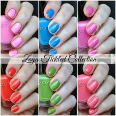 Zoya Tickled Collection #zoya