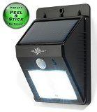 SolarBlaze solar LED night light http://www.amazon.com/SolarBlaze-TM-Wireless-Exterior-Security/dp/B00QL2C20C