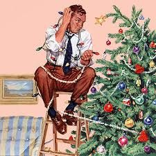 Image result for christmas norman rockwell