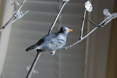 I wanted to make some clay birds with the kids. I had envisioned a tree branch with some realistic looking birds by the front door for a n...