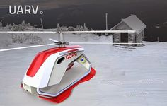 UARV diseño de un nuevo tipo de Drone