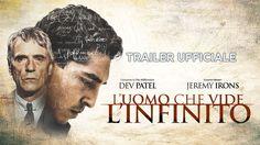 L'uomo che vide l'infinito (Dev Patel, Jeremy Irons) - Trailer italiano ...