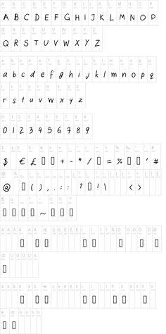 Cats Handwriting Font | dafont.com