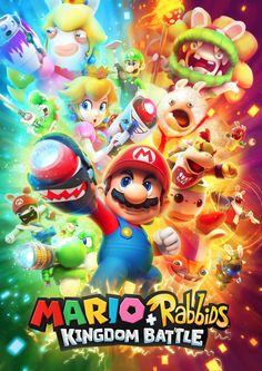 Mario plus Rabbids promotional art