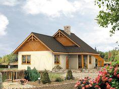 Wizualizacja projektu domu Szyper 5