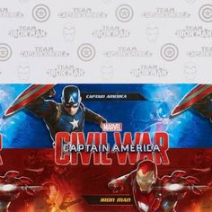 Captain America ''Civil War'' Plastic Table