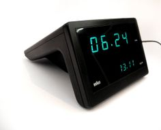 Braun's Iconic Digital alarm clock