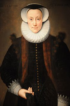 Franz Pourbus the Younger (1569 - 1622) Portrait of A Lady