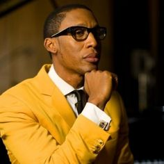 """This man is my songwriting partner """"in my head!""""  The amazingly talented Mr. Raphael Saadiq."""