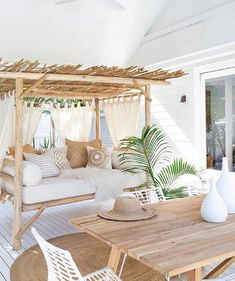 COCOON Strandhaus Inspiration villa design Wellness Design Badezimme home sweet home Villa Design, Home Design, Beach Design, Beach House Designs, Design Design, Rustic Design, Design Elements, Beach House Decor, Beach House Furniture
