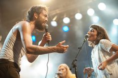 EDWARD SHARPE AND THE MAGNETIC ZEROS:  great band....if you haven't heard them yet, what are you waiting for?  Saw them in concert in Brisband AU. with Mumford & Sons, 2013