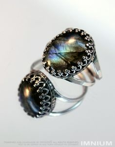 Labradorite ring sterling silver US size 4.5 - 5 one of a kind pinky ring FREE shipping.  Send me a message if you'd like a custom ring :)