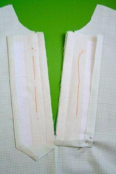Jump Rope Dress Sew-Along ~ Placket Markings