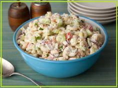 weight watchers recipes: WW Macaroni Salad PointsPlus+ = 3