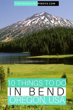 travel destinations usa 10 Things To Do in Bend, Oregon USA Oregon Travel, Travel Usa, Travel Portland, Oregon Vacation, Girl Travel, Vacation Places, Paris Travel, Canada Travel, Solo Travel
