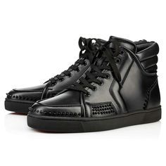 bc510d13c701 Christian Louboutin United States Official Online Boutique - Sporty Dude  Low Flat Black Leather available online. Discover more Men Shoes by  Christian ...