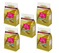 Japanese Beauty Suppliment Meiji Amino Collagen Premium Refill 214g x5set ** Check this awesome product by going to the link at the image.