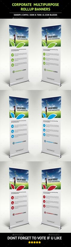 Roll-Up Banner Templates Corporate Rollup Banner Template #design Download: http://graphicriver.net/item/corporate-rollup-banner-v3/10221218?ref=ksioks