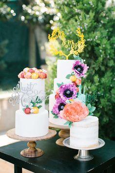 Blumiger Hochzeitstraum in der Türkei @yeliz atici photography http://www.hochzeitswahn.de/inspirationsideen/blumiger-hochzeitstraum-in-der-tuerkei/ #weddingcake #cake #sweets