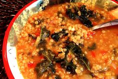 Coconut & Kale Soup For A Breast Cancer Diet healthy anti cancer soup recipe