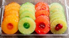 Try something new by making your Jello in a Pineapple Can! Pineapple Jello, Pineapple Desserts, Canned Pineapple, Gelatin Recipes, Jello Recipes, Dessert Recipes, Cherry Chip Cake, Dessert Salads, Jello Salads