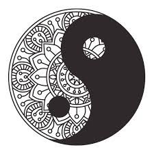 Bildergebnis für yin yang mandala