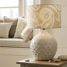 Hascombe Artichoke Ceramic Lamp Base at Laura Ashley