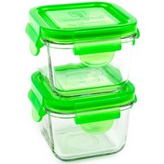 Wean Green Snack Cubes 7oz/210ml Baby Food Glass Containers - Pea (Set of 2) Wean Green http://www.amazon.com/dp/B005ERLGAW/ref=cm_sw_r_pi_dp_nrCevb1JRQAN0