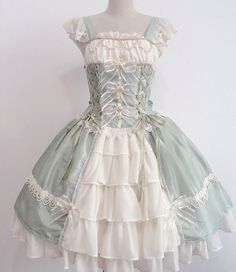 --> BTSSB Replica +~Bless from Michael~+ Lolita Jumper Dress --> IN STOCK NOW, can be shipped out in 3-6 days. --> Learn More: http://www.my-lolita-dress.com/sweet-red-white-chiffon-bows-lolita-jsk-rbb-12
