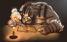 "jessejlarsen: ""  Pike teaching Grog to read was some amazing RP. So funny and touching at the same time :) """
