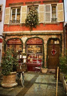 Noël dans Strasbourg, Bas-Rhin (France) - Crédit Photo : Soledad Garcia Salas