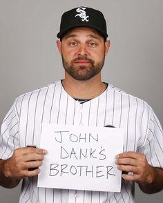 Jordan Danks' photo day #MLB