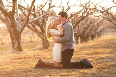 Engagement photos by Terra Cooper of Magnifique Photography